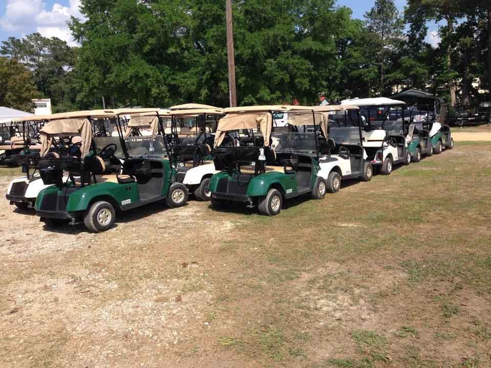 Lot with golf cartr