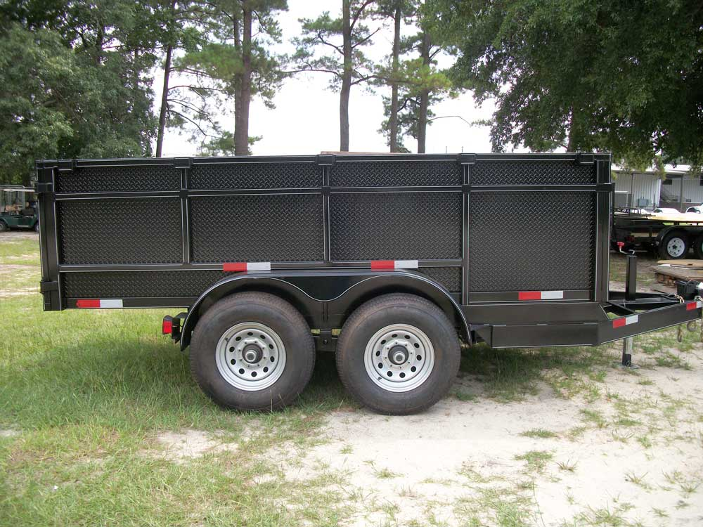 Black Utilty Trailer